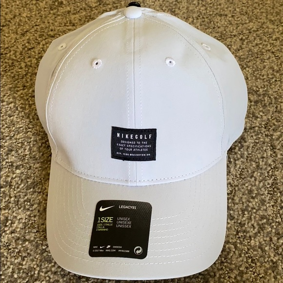 Nike Other - Nike golf Legacy91 light gray hat